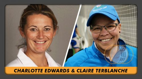Charlotte Edwards & Claire Terblanche