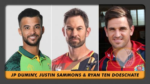 Changeroom Chat with JP Duminy, Justin Sammons & Ryan Ten Doeschate